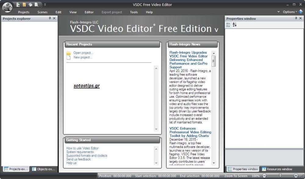 Μετατροπή video που δεν παίζουν με VSDC σε mkv, mp4 κλπ