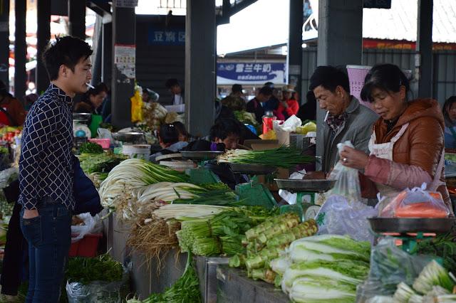 Marché de Lijiang