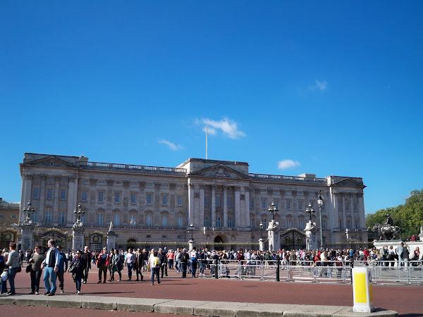 Moja wizyta w Pałacu Buckingham.