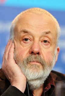 Mike Leigh. Director of Topsy Turvy