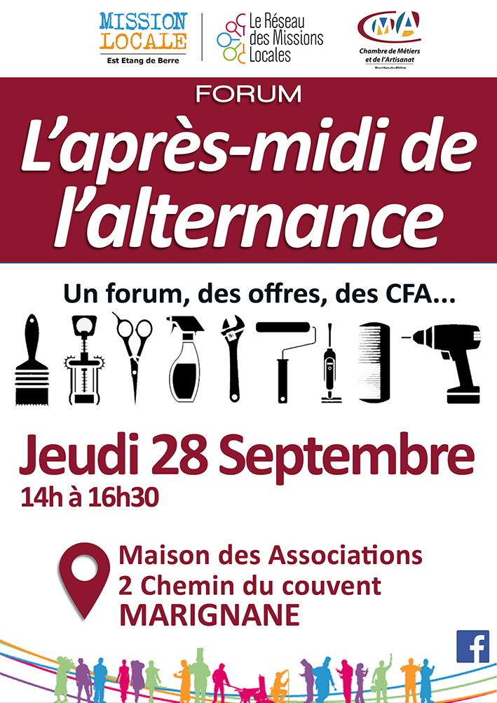 L 39 apr s midi de l 39 alternance revient le 28 septembre for Mission locale salon de provence