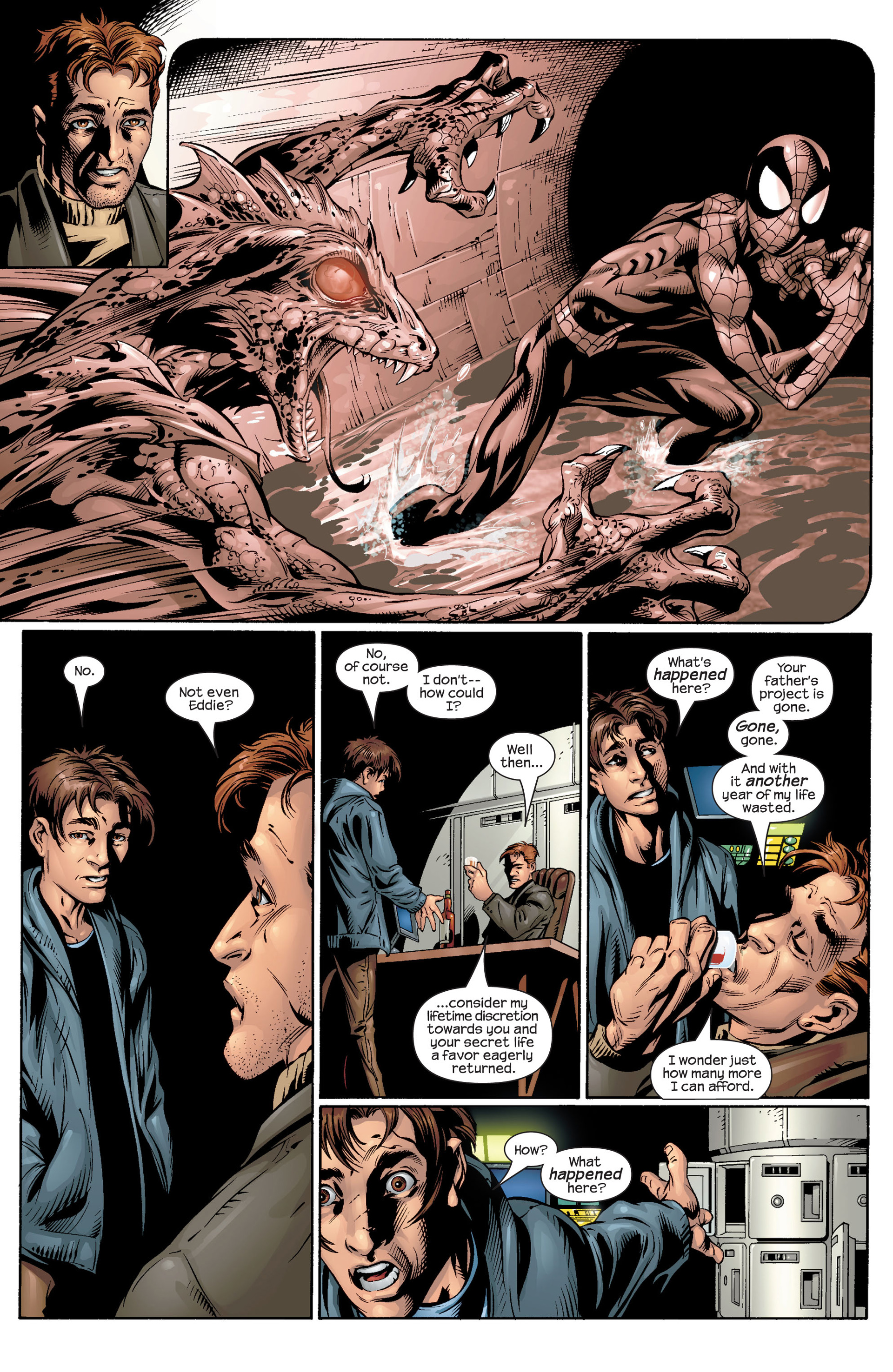 Read online Ultimate Spider-Man (2000) comic -  Issue #39 - 19