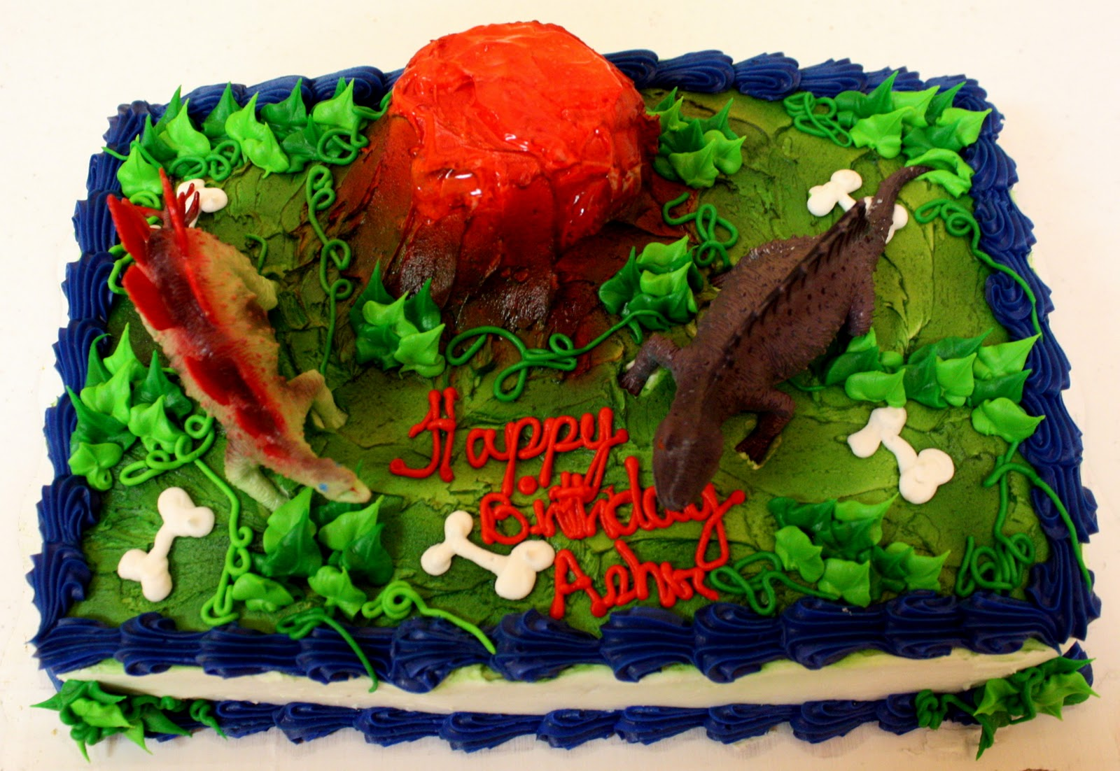Dinosaur Cake Ideas Wal Mart Supercenter 5458