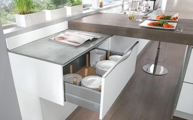 clevere ideen f r k chenschr nke die gut organisierte k che themen k che kochen leben. Black Bedroom Furniture Sets. Home Design Ideas