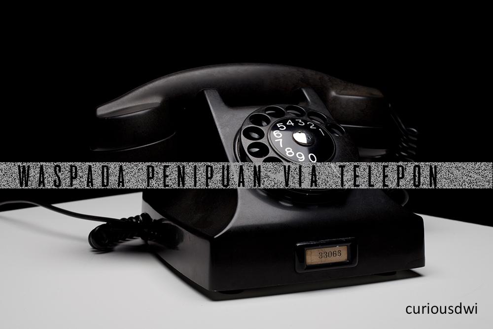 waspada penipuan via telepon