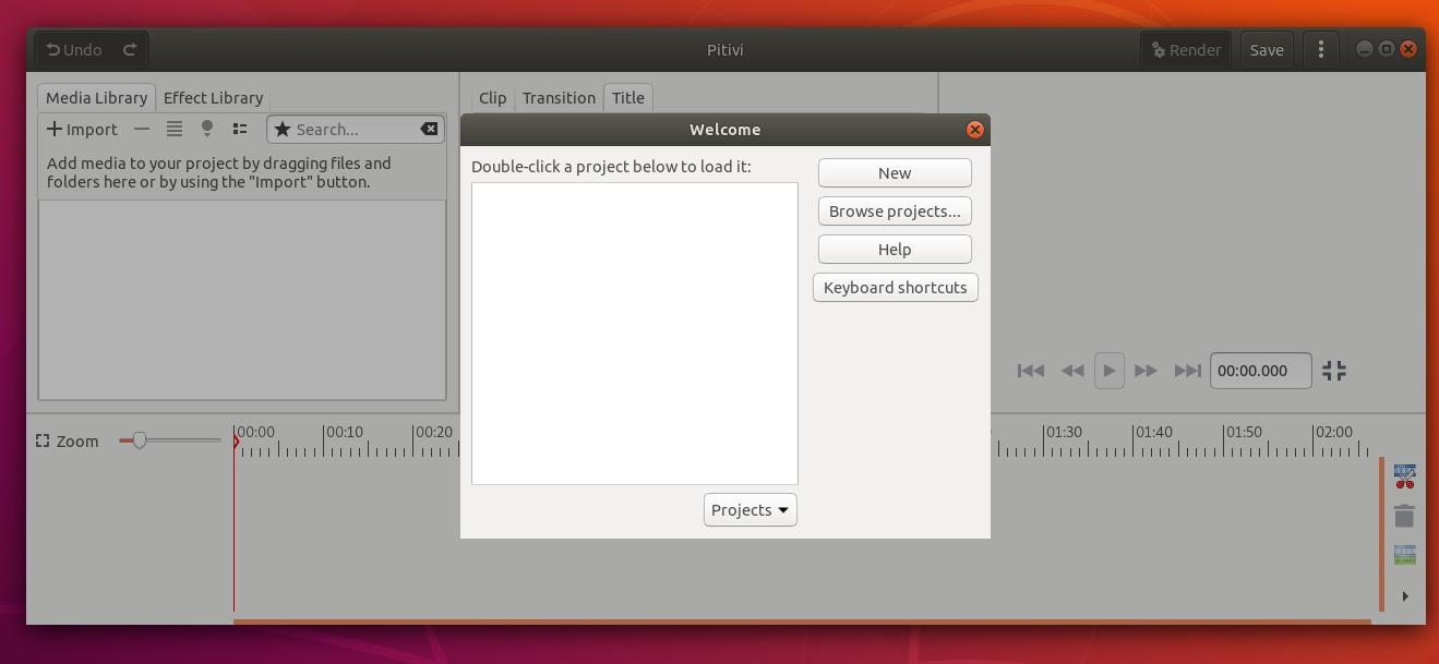Install Pitivi 0 99 (Video Editor) on Ubuntu / Linux Mint (Platpak