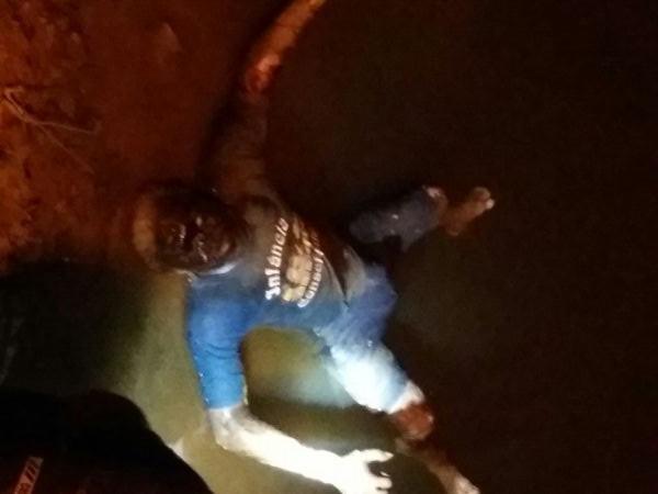 Corpo de homem é encontrado nas águas do Rio Machado