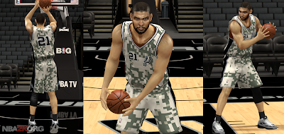 Spurs Military Night Jersey