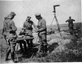 German 21st Division command post, 12 August 1941 worldwartwo.filminspector.com