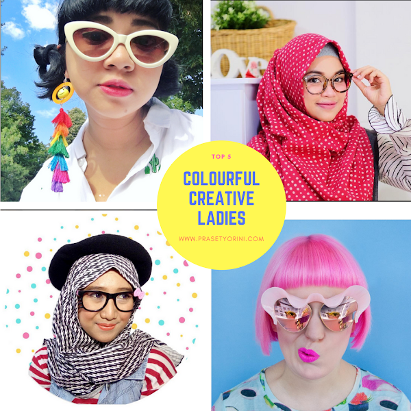 Top 5 Colourful and Creative Ladies