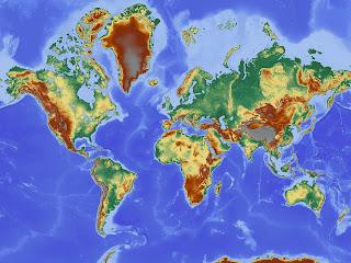 Peta Dunia Negara Maju dan Berkembang Terlengkap 2017 New