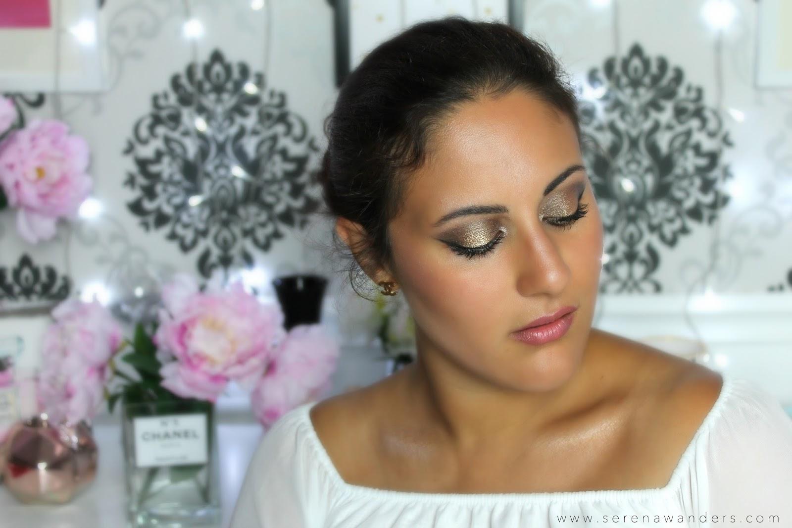 Serena wanders bronzed dewy highlighted goddess makeup tutorial quindi sommando questo al fatto che questo makeup look uno dei miei preferiti di sempre ho deciso di proporvelo proprio ora baditri Choice Image