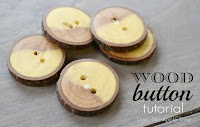 DIY Wood Buttons, Over The Apple Tree