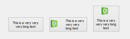 Qt Snippet: QPushButton with word wrap feature