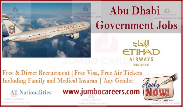 Etihad Airways Jobs and Careers 2019 Latest Abu Dhabi Government Jobs