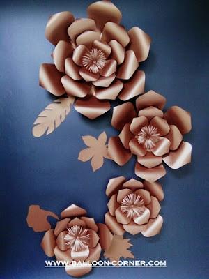 Paper Flower / Bunga Kertas (Paket Super Premium)