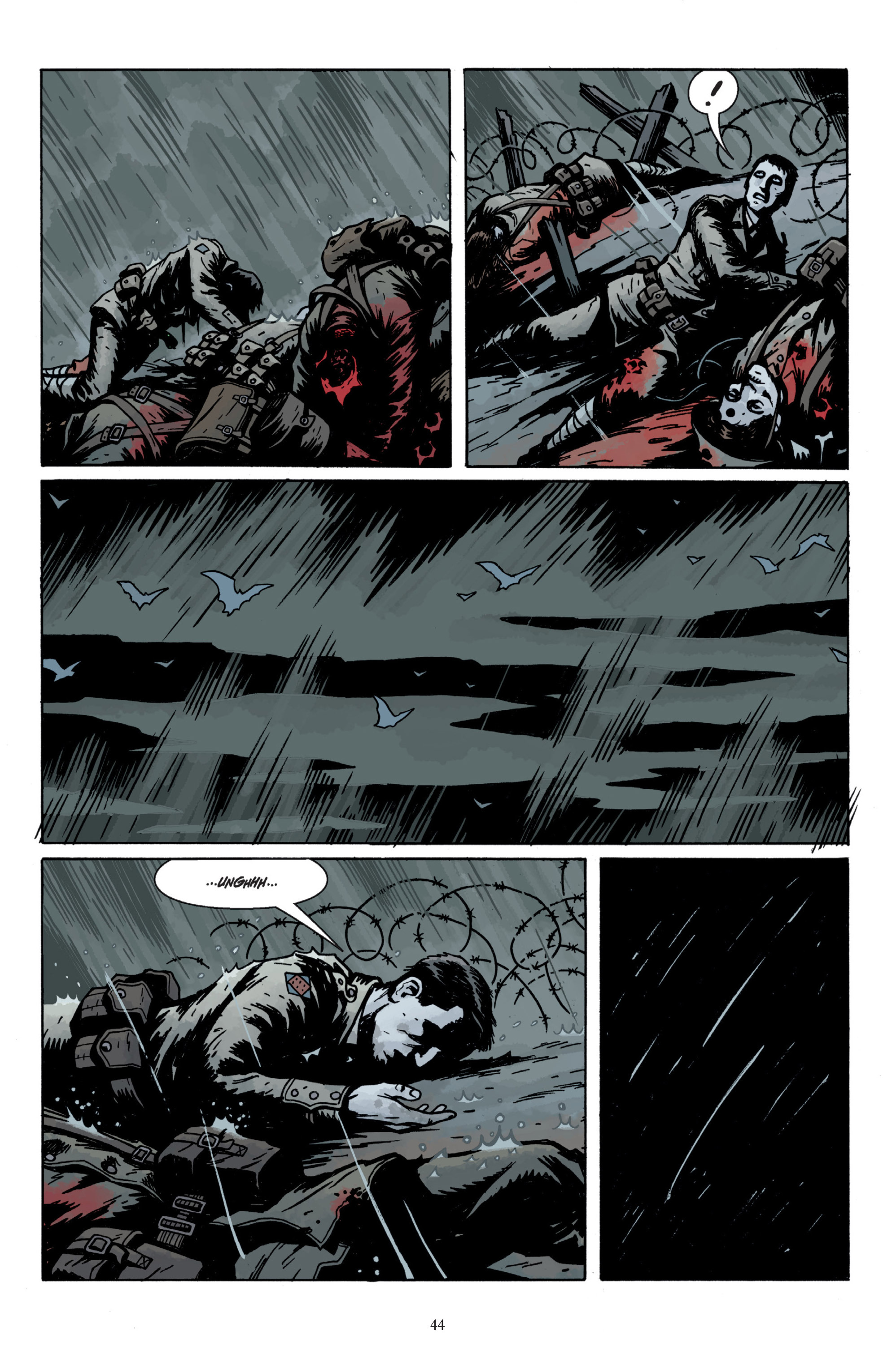 Read online Baltimore: The Plague Ships comic -  Issue # TPB - 46