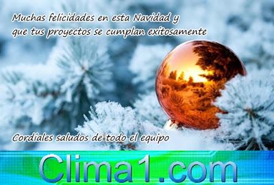 Feliz Navidad Clima1