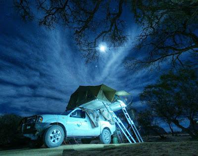 Viajando e acampando pela Namíbia numa camionete 4x4