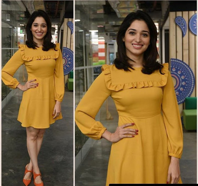 Tamanna Yellow Dress Tutak Tutak Tutiya Promotions