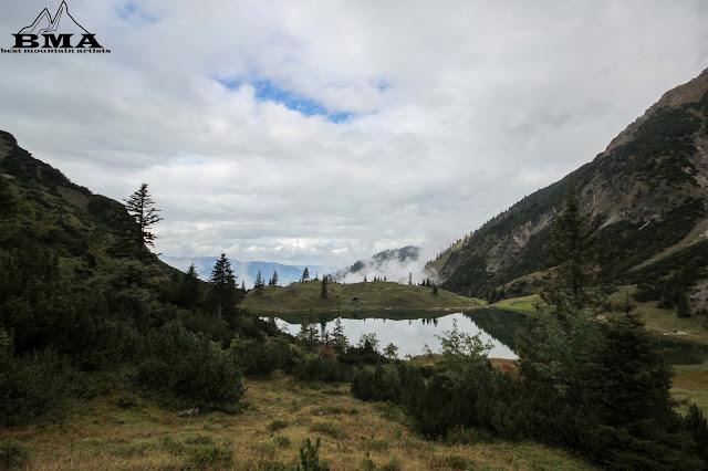 Gaisalpsee bei Oberstdorf Sonthofen wandern Wanderung BMA Best Mountain Artists Heimplanet