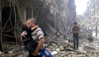 catastrophe humanitaire à Raqqa