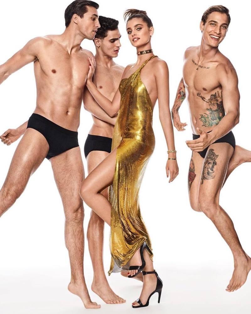 Vogue Japan December 2017 Nikolai, Taylor & Jhona by Giampaolo Sgura