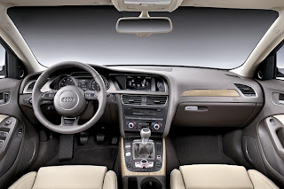 New audi a4 interior and steering