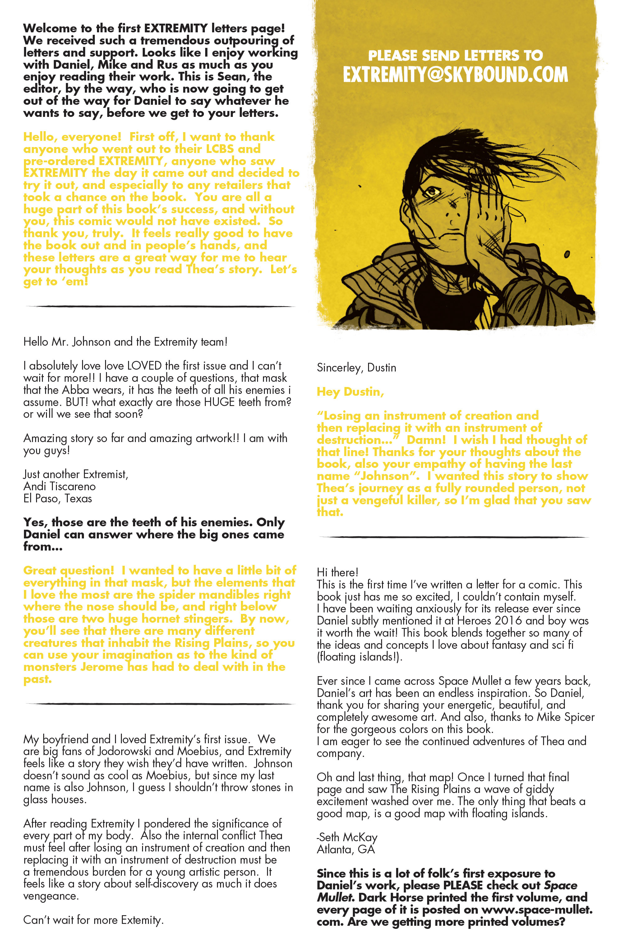 Read online Extremity comic -  Issue #3 - 24