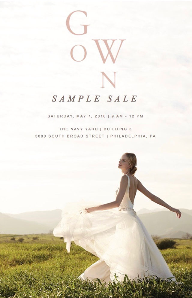 BHLDN Sample Sale, Wedding Dress Sample Sale, BHLDN Dress, BHLDN Gown Sample Sale