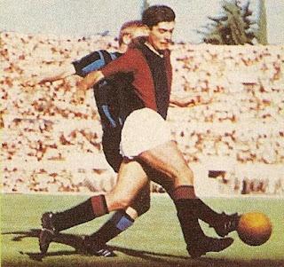 Bologna - Inter 2-0, 7-6-1964. Bulgarelli e Tagnin.