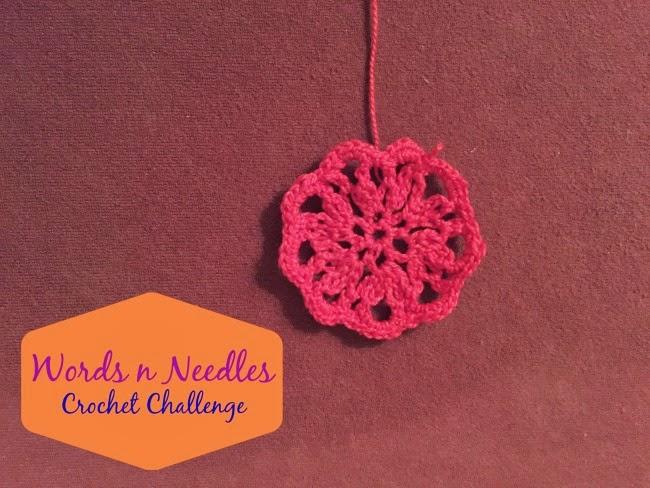 WordsnNeedles Crochet Challenge Week 5