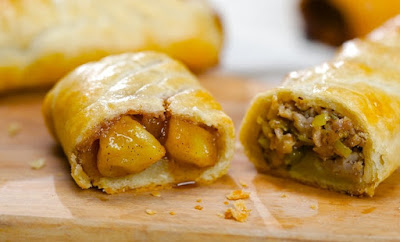 Bedfordshire Clanger Recipe, Dissert from England