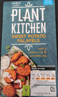 M&S sweet potato falafels plant kitchen vegan