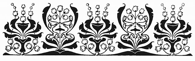 five flourishes in a 1915 publication