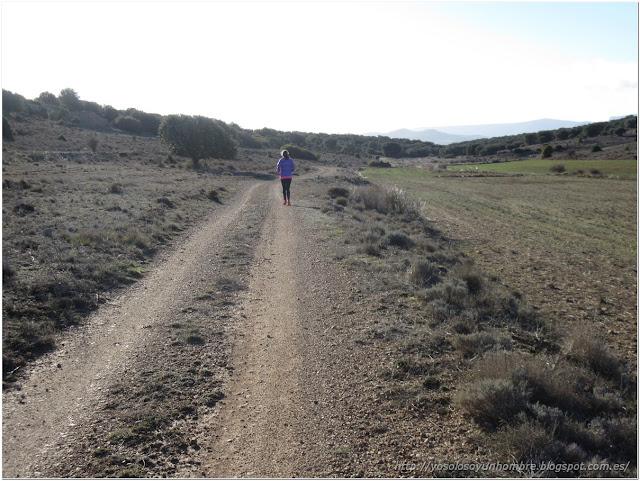 Corriendo hacia La Majadillas