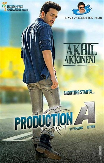 Akhil 2015 UNCUT 350Mb 480p Dual Audio HDRip Download bolly4u