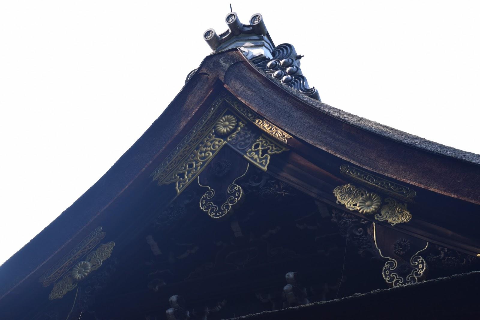 Sennyuji Temple roof Kyoto