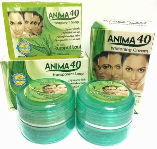 Deoonard 7 Days Whitening Cream Krim Pemutih Wajah: Grosir Cream Herbal Anima 40 BPOM