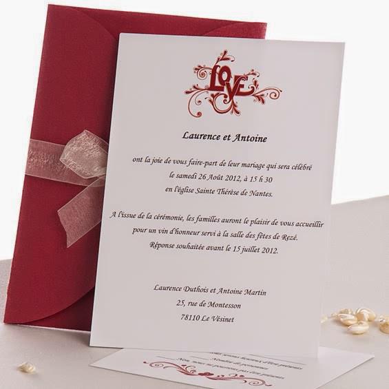 faire part mariage pas chere invitation mariage carte mariage texte mariage cadeau mariage. Black Bedroom Furniture Sets. Home Design Ideas