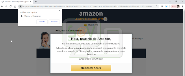 Redirecciones a Osilisse.com
