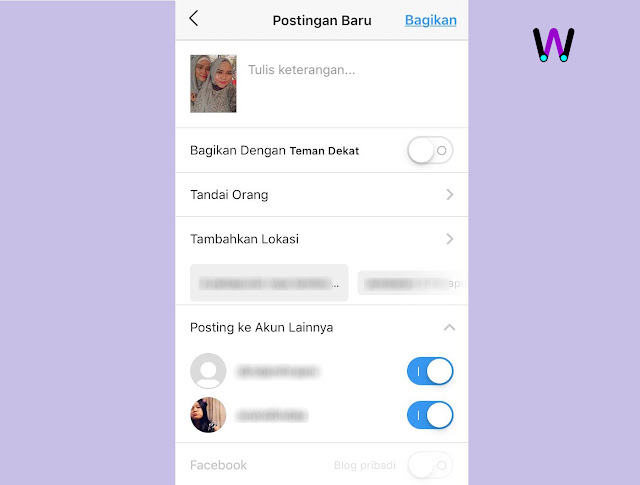 Instagram Bisa Posting ke Banyak Akun Sekaligus
