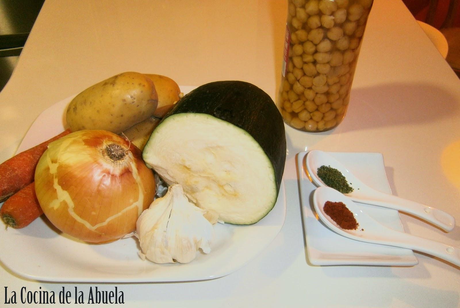 Crema de Verduras y Legumbres.
