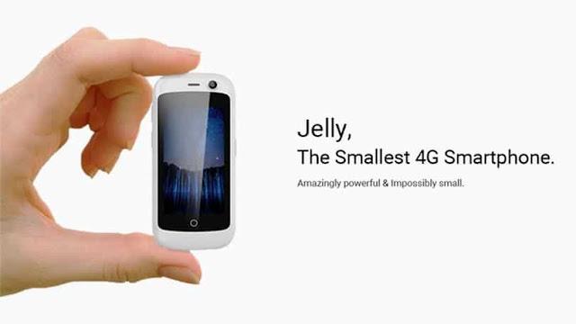 أصغر هاتف ذكي في العالم بمواصفات جبارة