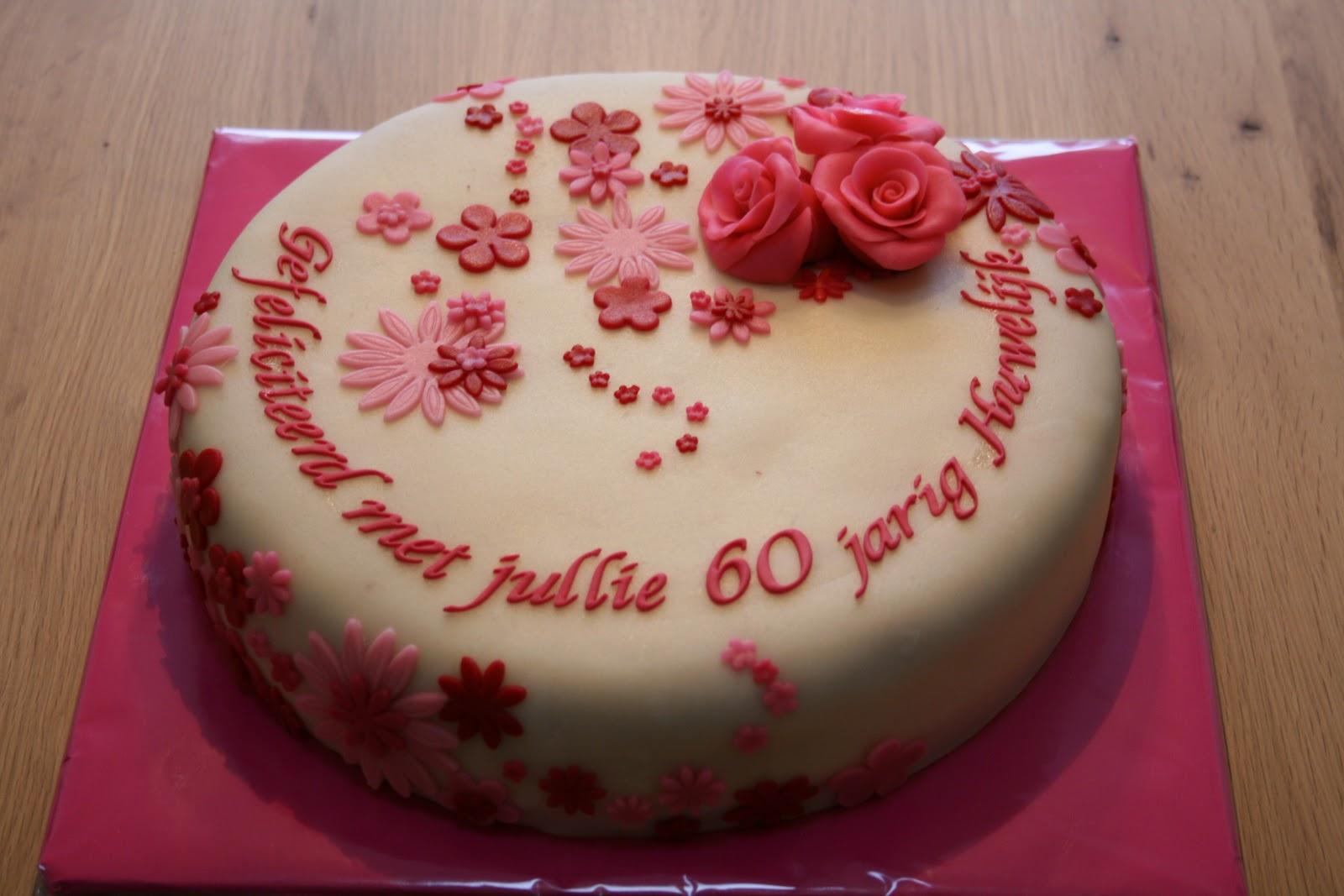 Genoeg Uitzonderlijk Verjaardagstaart 60 Jaar WC05 | Belbin.Info LI78