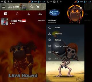 BBM MOD Lavahound v2.13.1.14 Apk Terbaru