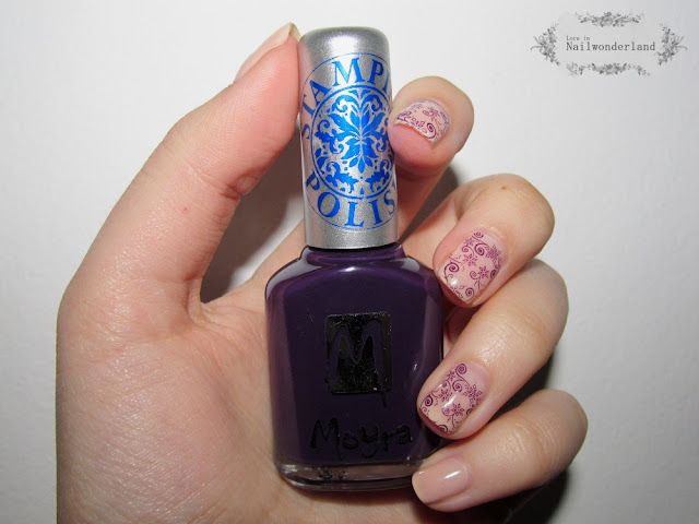 moyra stamping polish purple