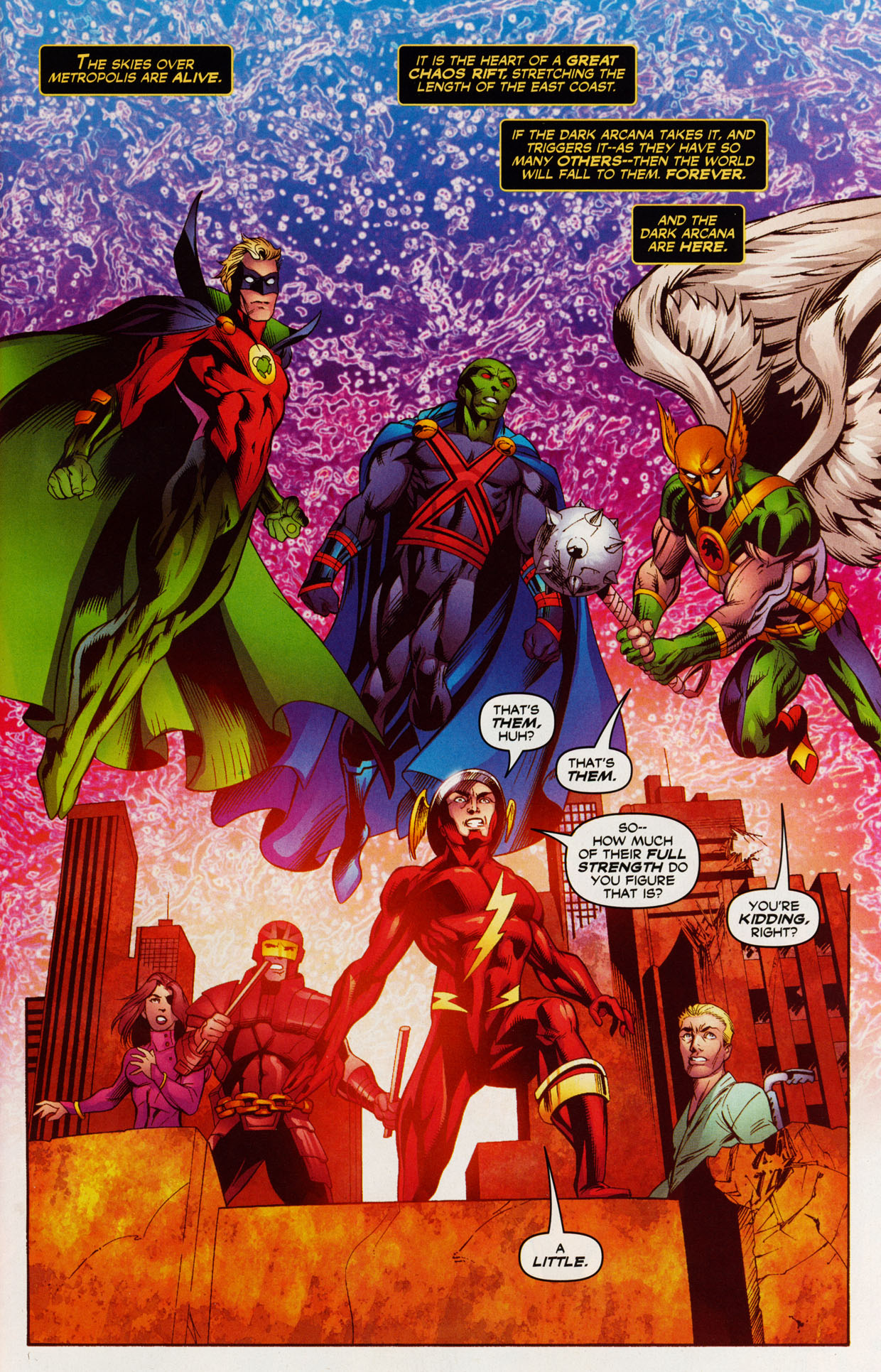Read online Trinity (2008) comic -  Issue #39 - 3