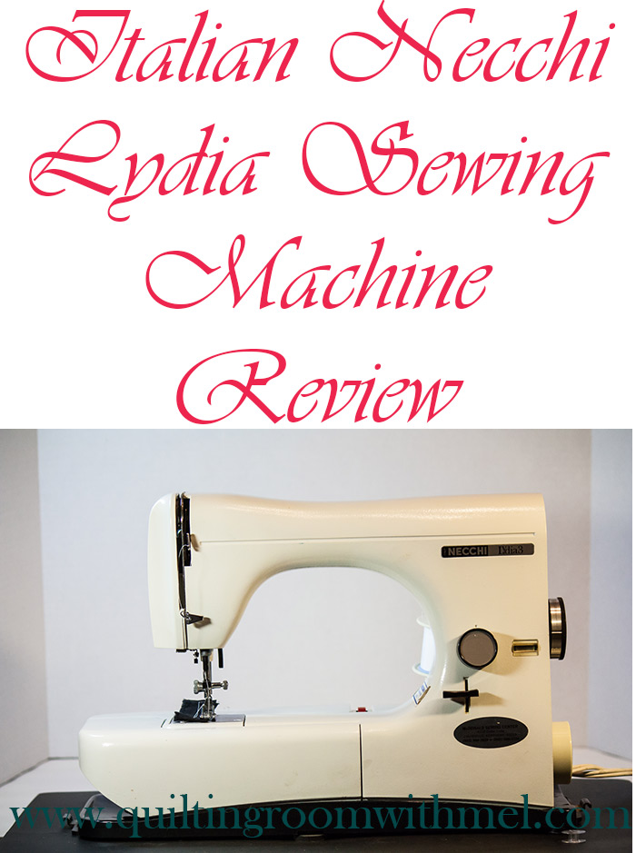 italian necchi lydia 3 sewing machine