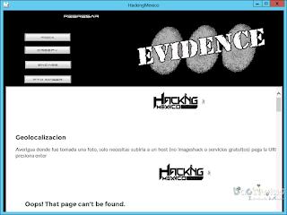 HackingMexico evidence